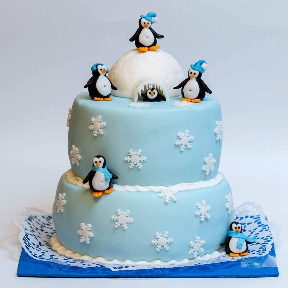 tort-pinguini