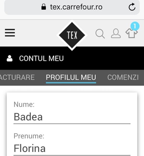 Tex Carrefour online